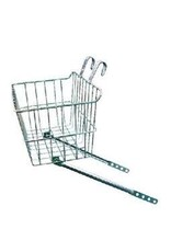 """WALD PRODUCTS Wald 151 Front Drop Top Basket,  14x9x7"""",  Silver"""