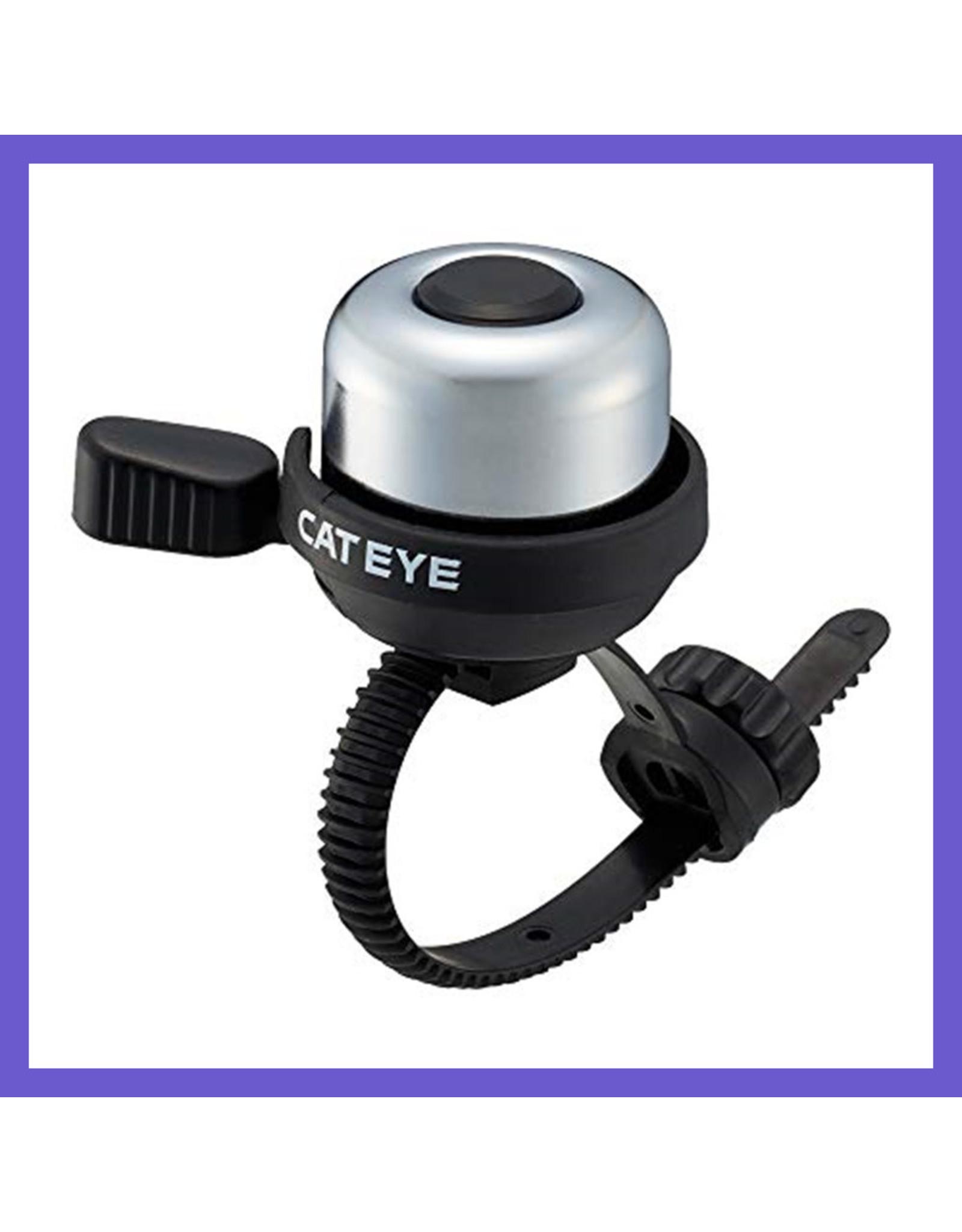 CATEYE CatEye PB-1100 Bell, Silver Black