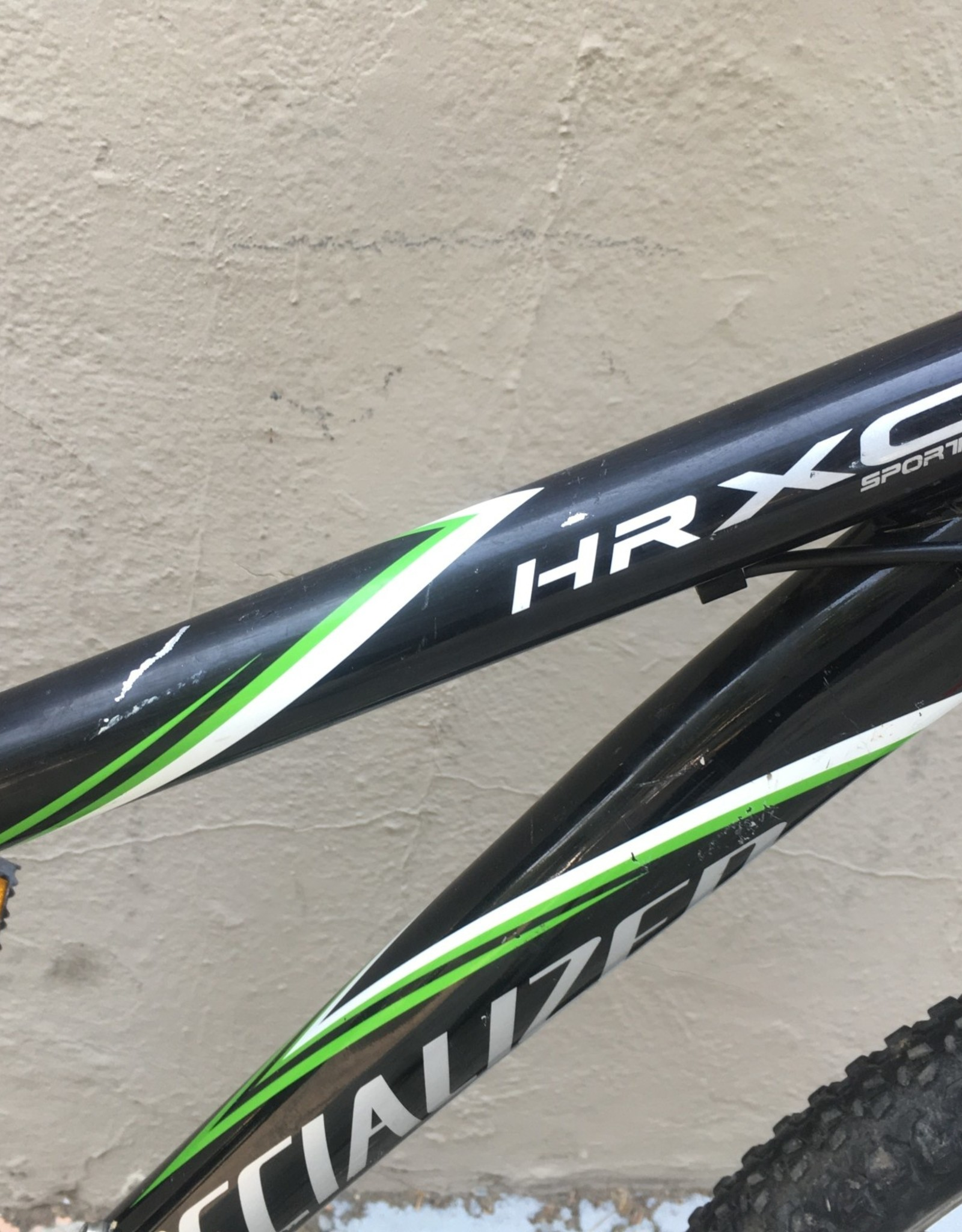 Specialized Specialized Hardrock HR XC Sport Mountain, 15 Inches, Black w/ Green, 2008