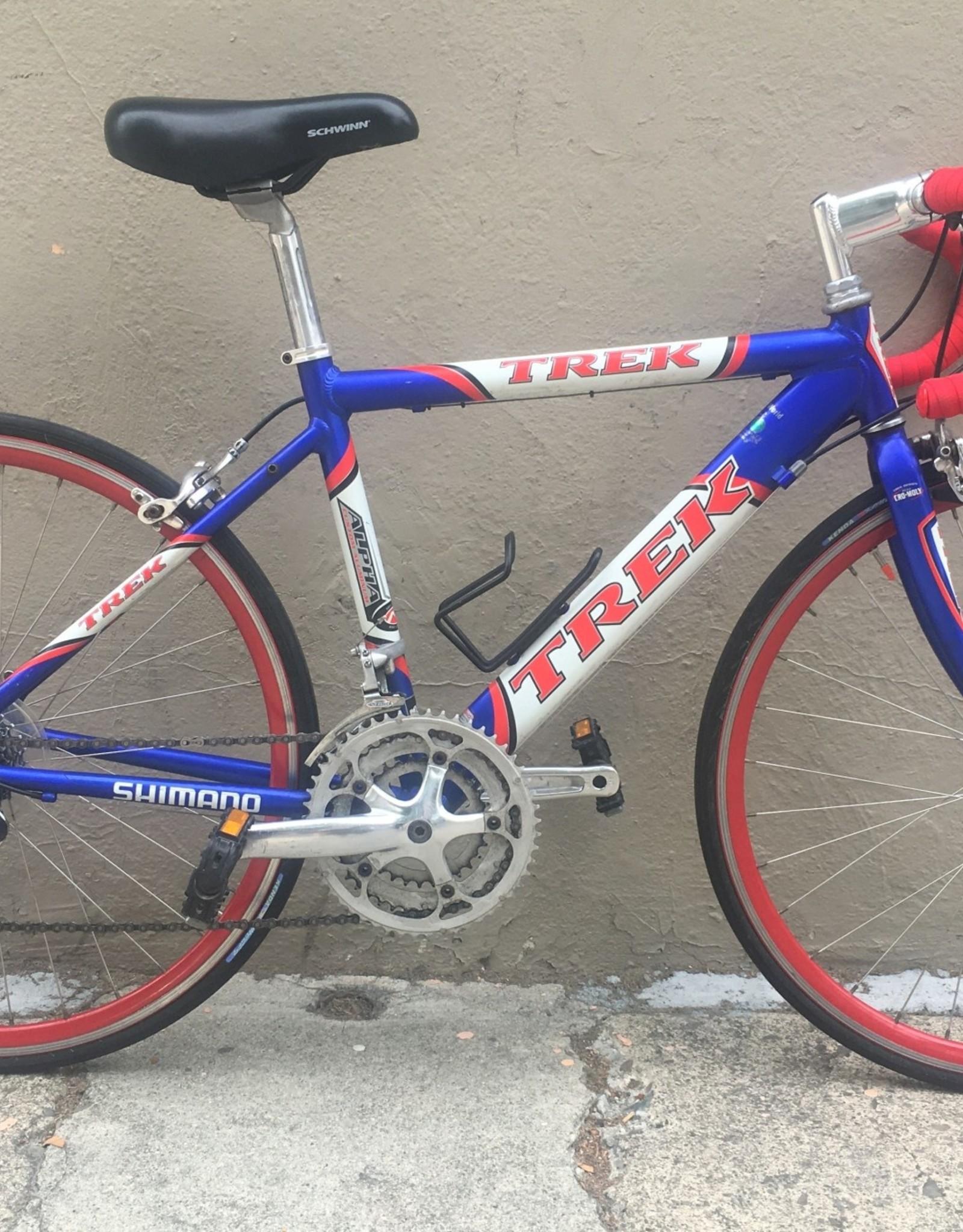 Trek Trek 1000 Alpha Road, Blue & Red, 2001, 43cm