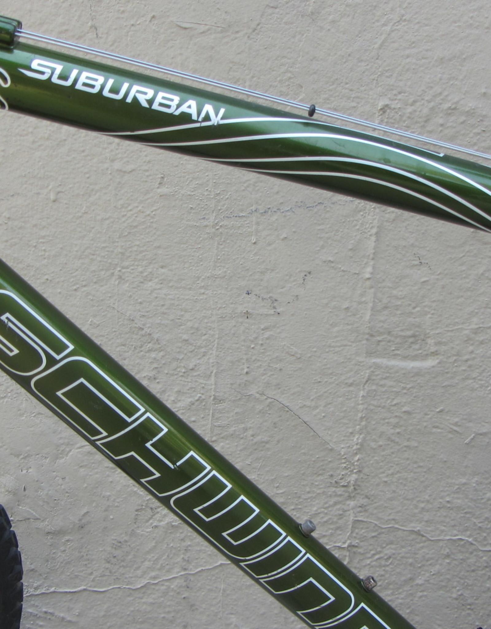 Schwinn Schwinn Suburban, Green, 18 Inches