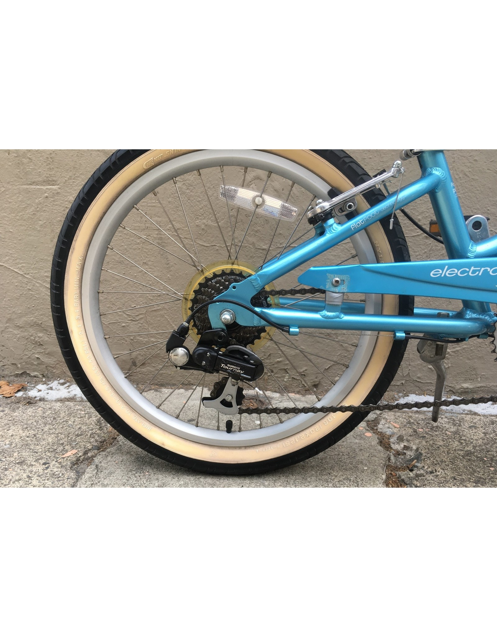 ELECTRA Electra Cruiser Townie 7D Youth Cruiser, 20 Inch Wheel, Blue