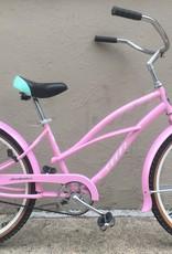 Sun Sun Custom Beach Cruiser, 16 Inches, Pink
