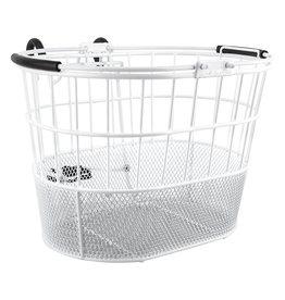 SUNLITE Sunlight Basket Wire/Mesh Oval White