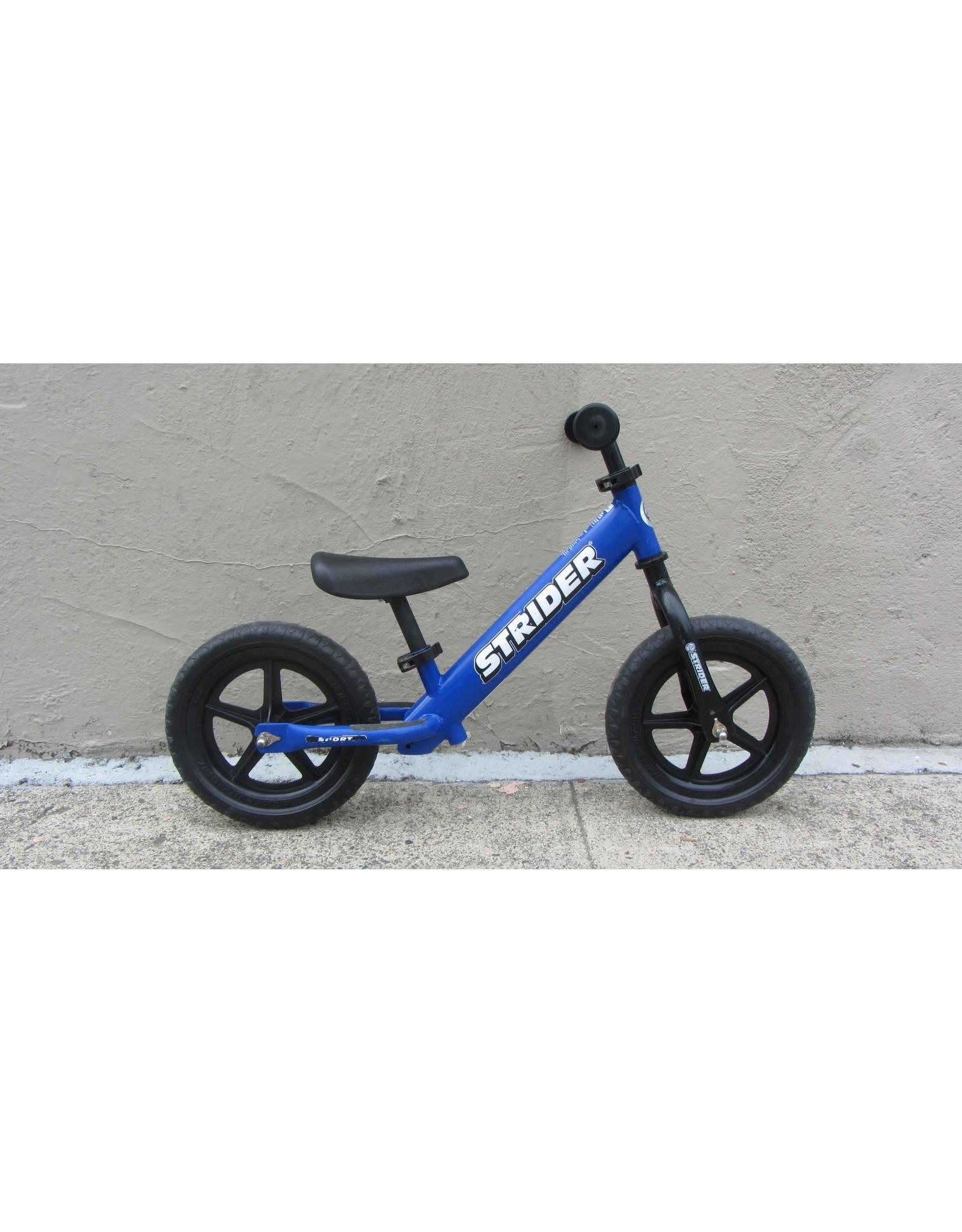 Strider Strider 12 Sport Balance Bike, Blue