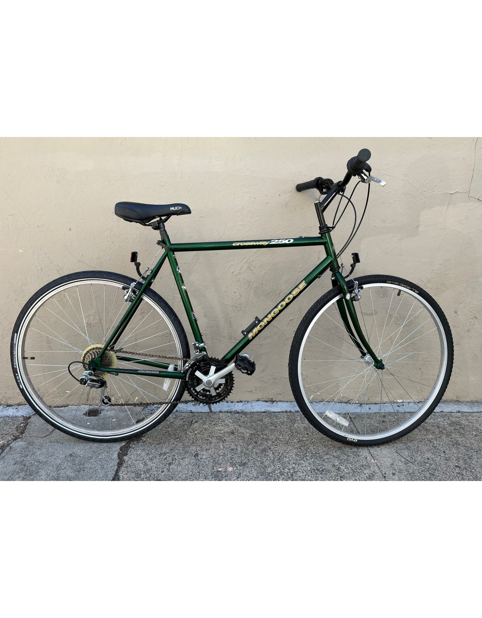 Mongoose Mongoose Crossway 250 Vintage, 1997, Green, 18 Inches