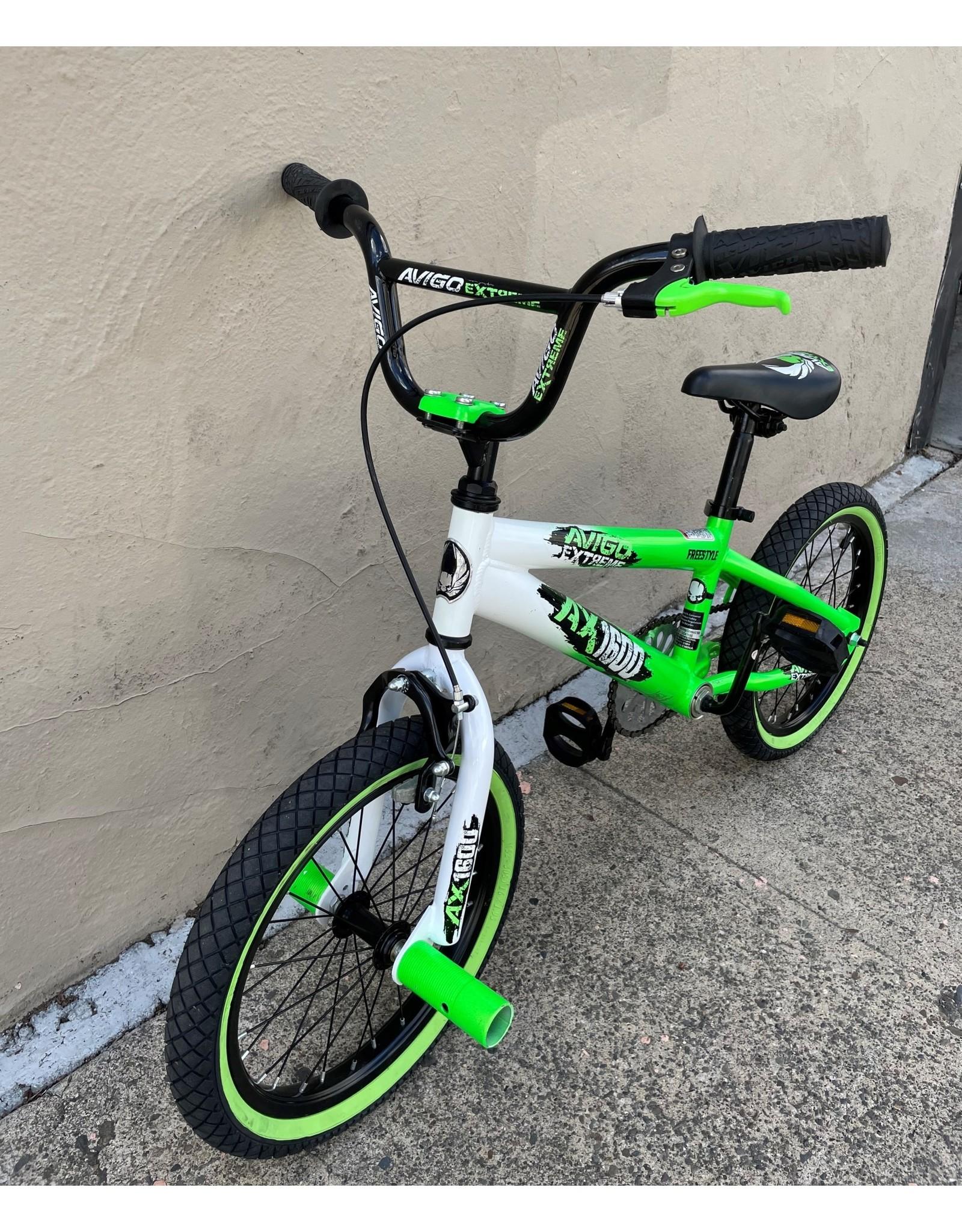 Avigo Avigo Extreme AX 1600 Youth, Green/White,  16-inch wheel