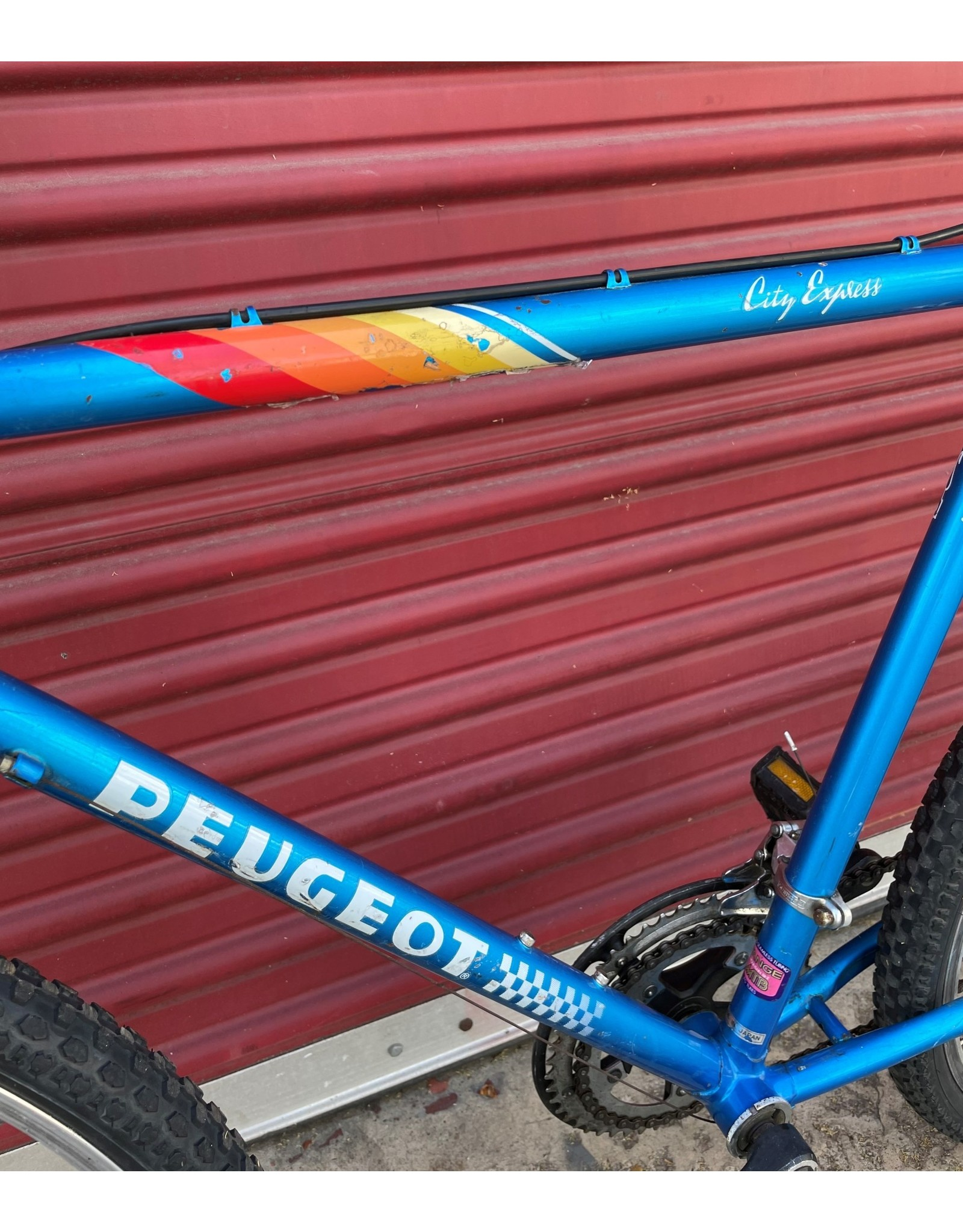 Peugeot Peugeot City Express Vintage, 1985, 21 Inches, Teal