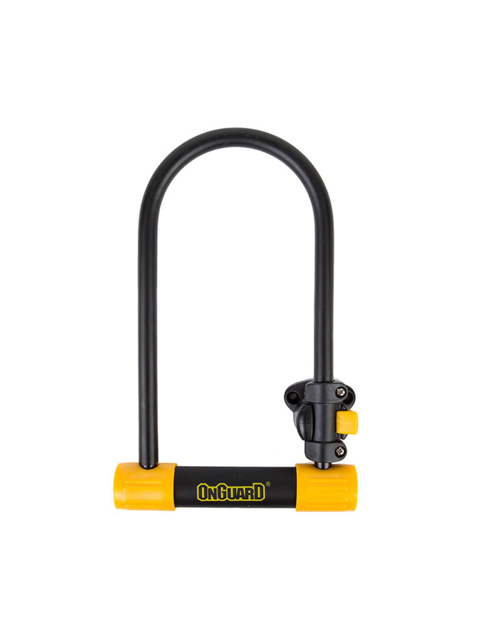 ONGUARD OnGuard Bulldog U-Lock 8010, 4.5x9, Black