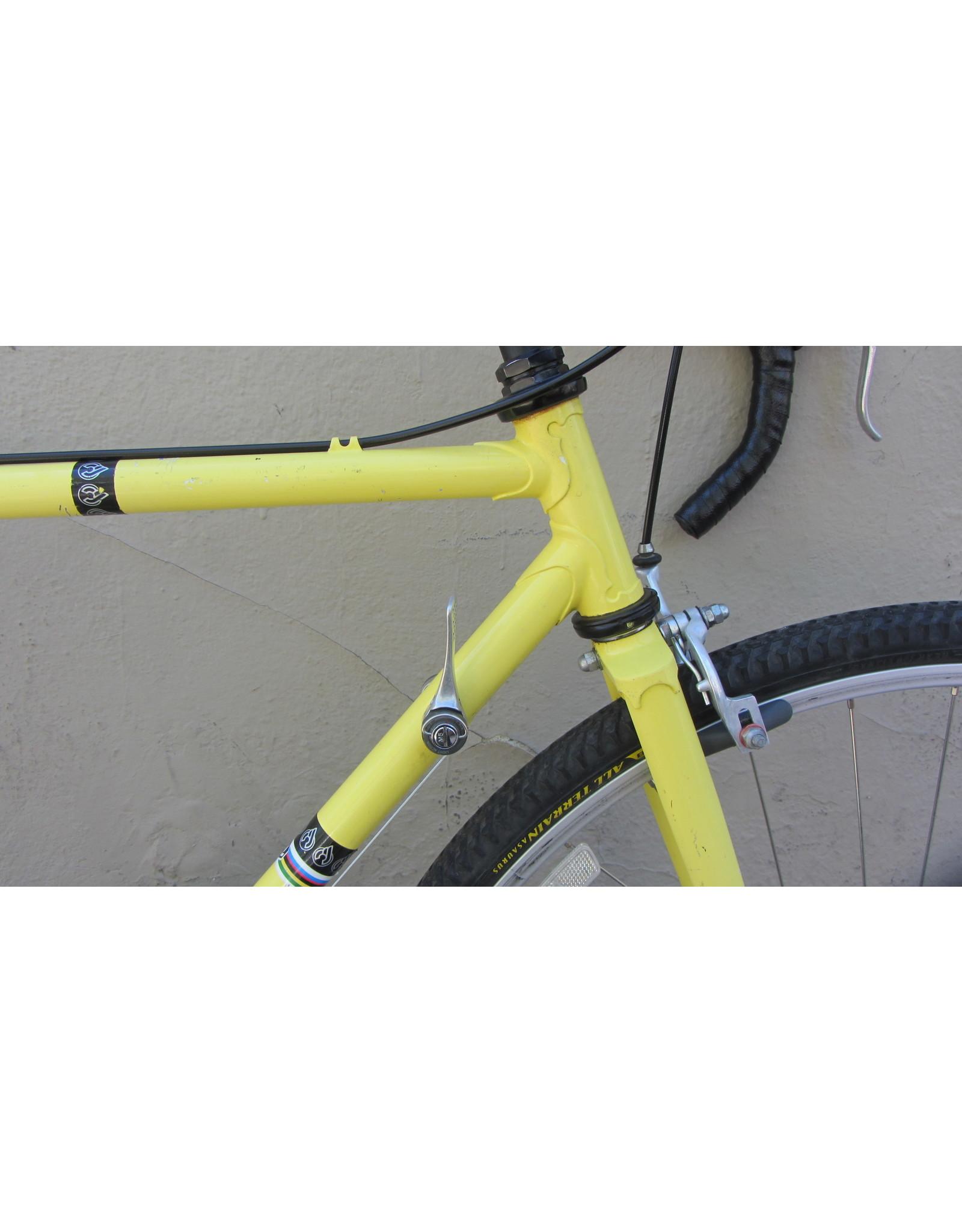 Nishiki Nishiki Vintage Road, Yellow, 20.5 Inches