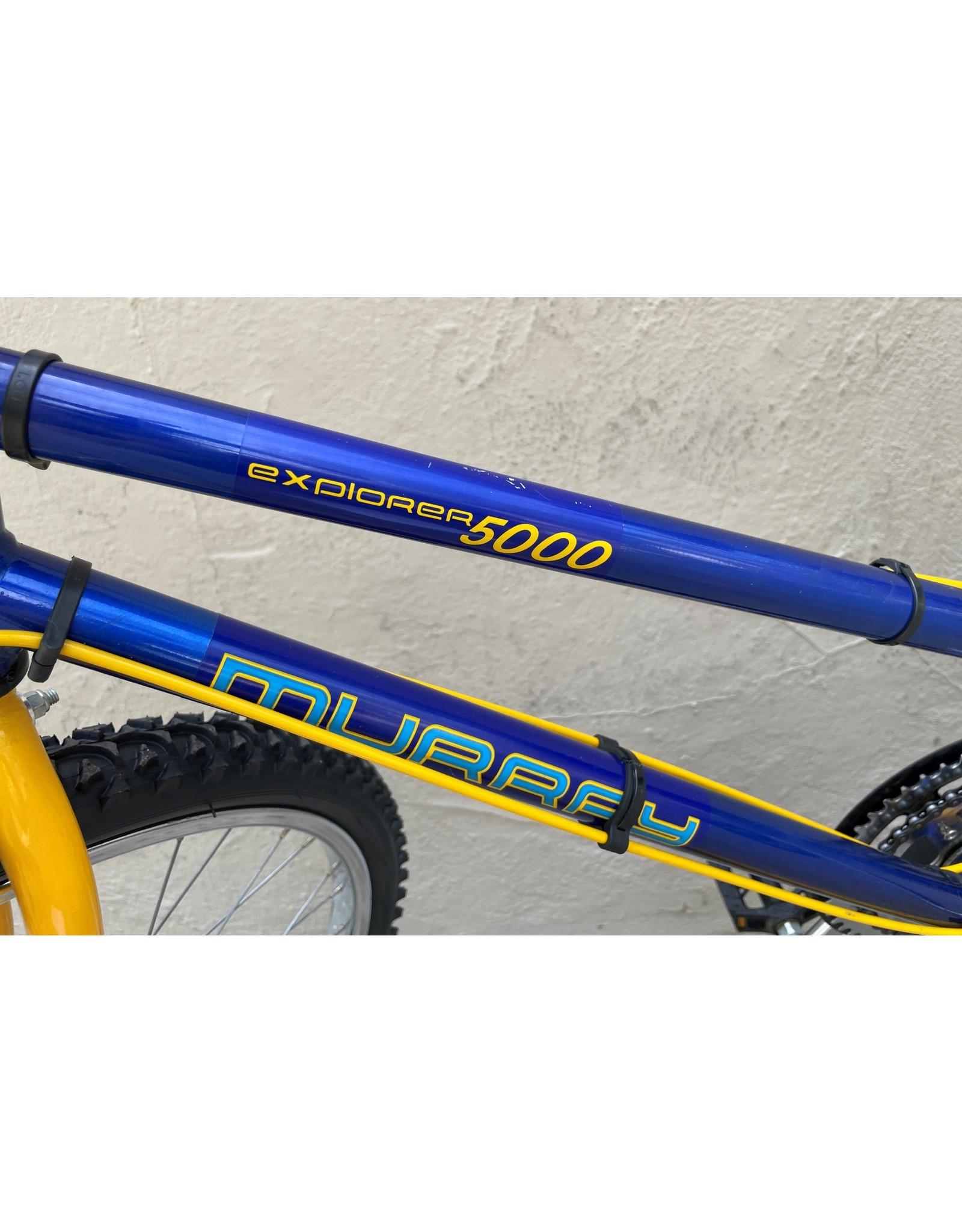 Murray Murray Explorer 5000 MC Series, Vintage, 1988, Blue & Yellow, 19 Inches