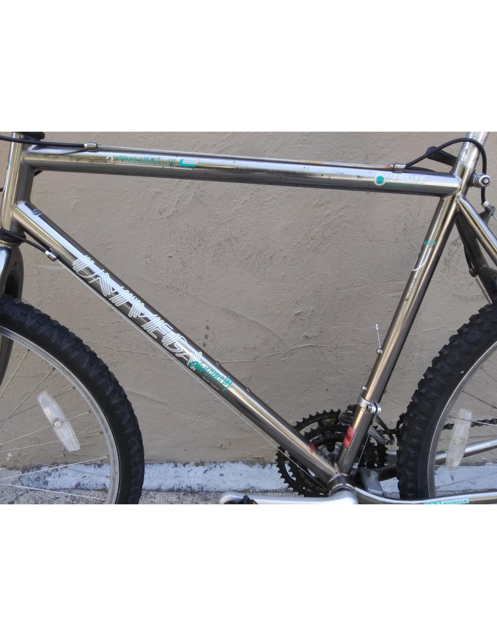Univega Univega Alpina Uno LX Vintage, 1991, 20 Inches, Silver