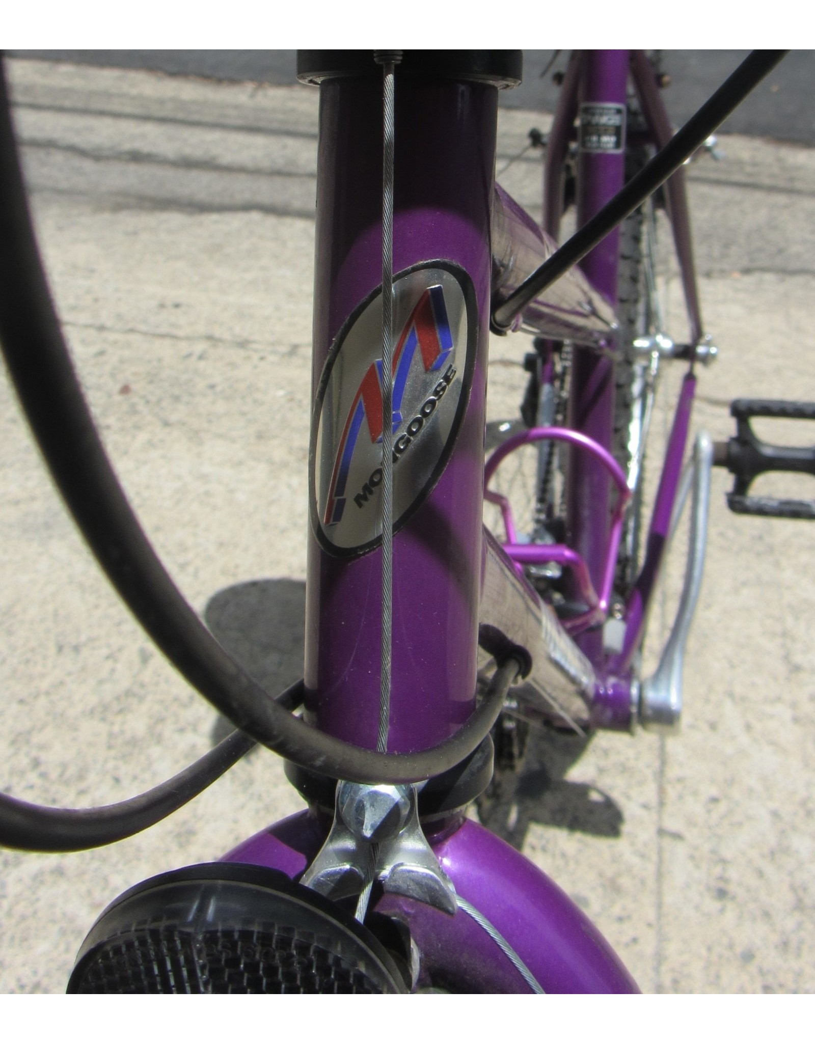 Mongoose Mongoose Switchback, Vintage 19 inch, Purple
