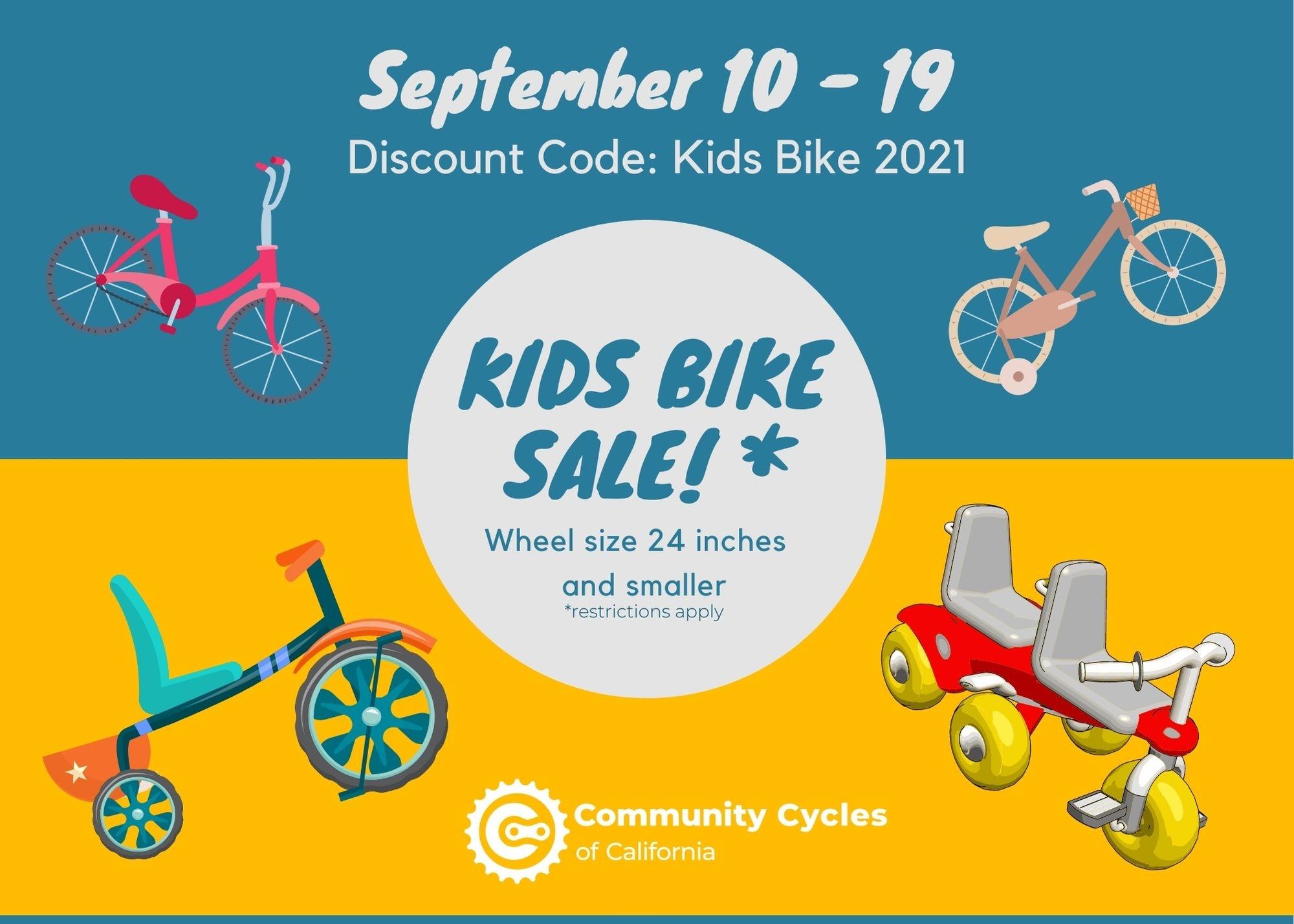 Kids Bike Sale 2021