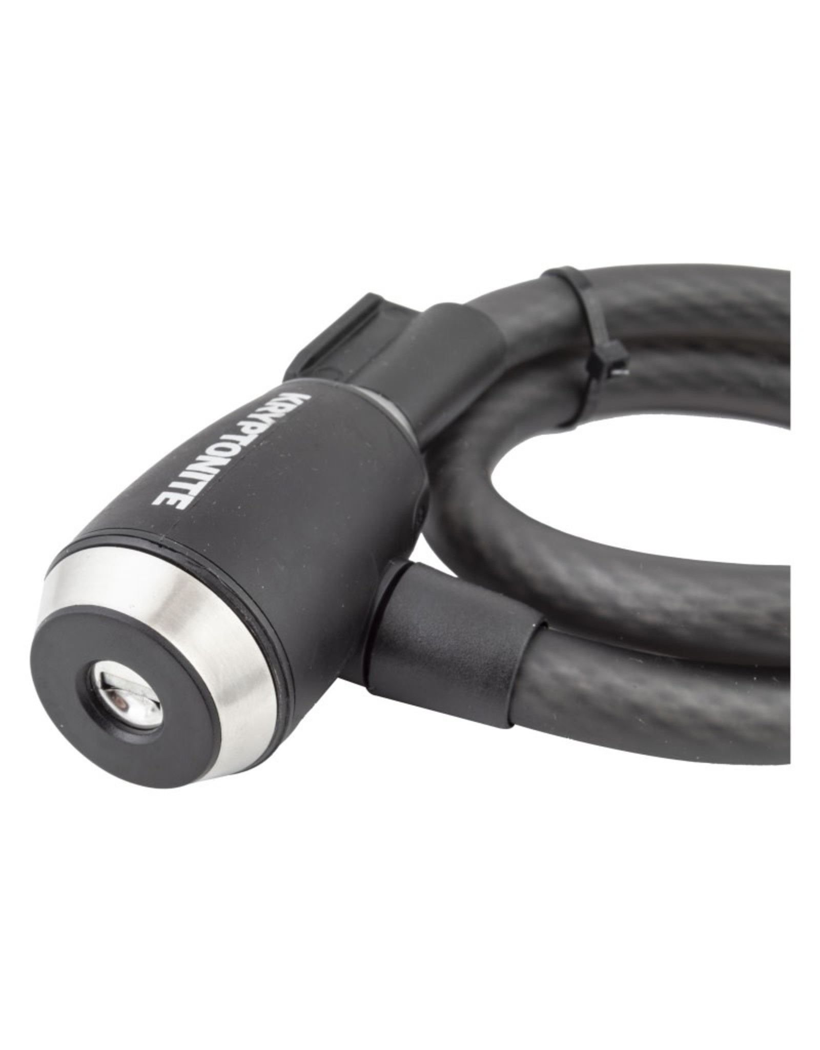 KRYPTONITE KryptoFlex 1565 Key Cable Lock 2.125fx15mm w/BKT BK