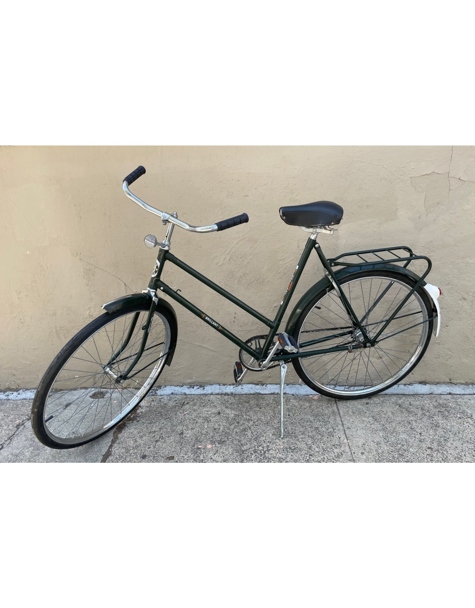 Super Style Cycles Brilliant Super Style Step-Through, Dutch Style, 22 Inches, Green