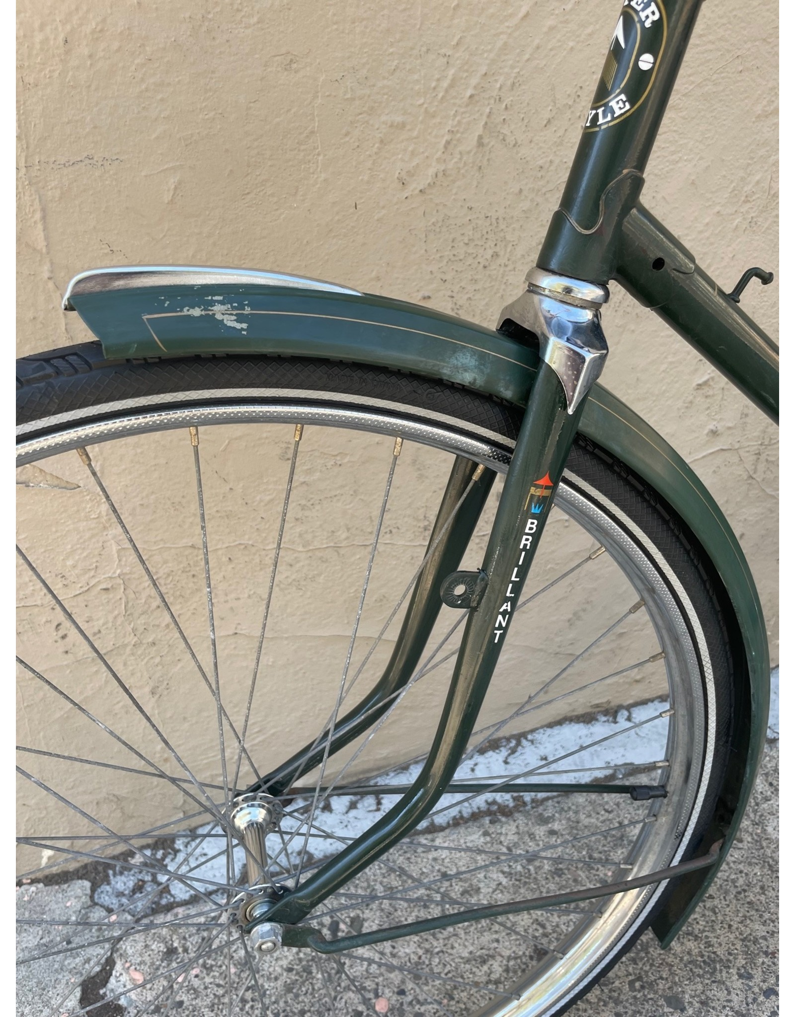 Super Style Cycles Brilliant Super Style, Dutch Style, 23 Inches, Green