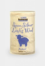 BUNHEAD SPUN SILVER LAMBS WOOL 1 OZ NATURAL (BH400)