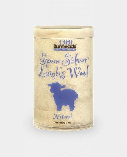 BUNHEAD SPUN SILVER LAMBS WOOL 1 OZ NATURAL (BH400)