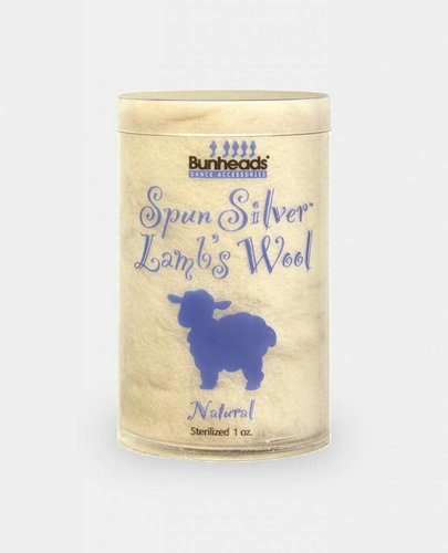 BUNHEAD SPUN SILVER LAMBS WOOL 1 OZ NATURAL