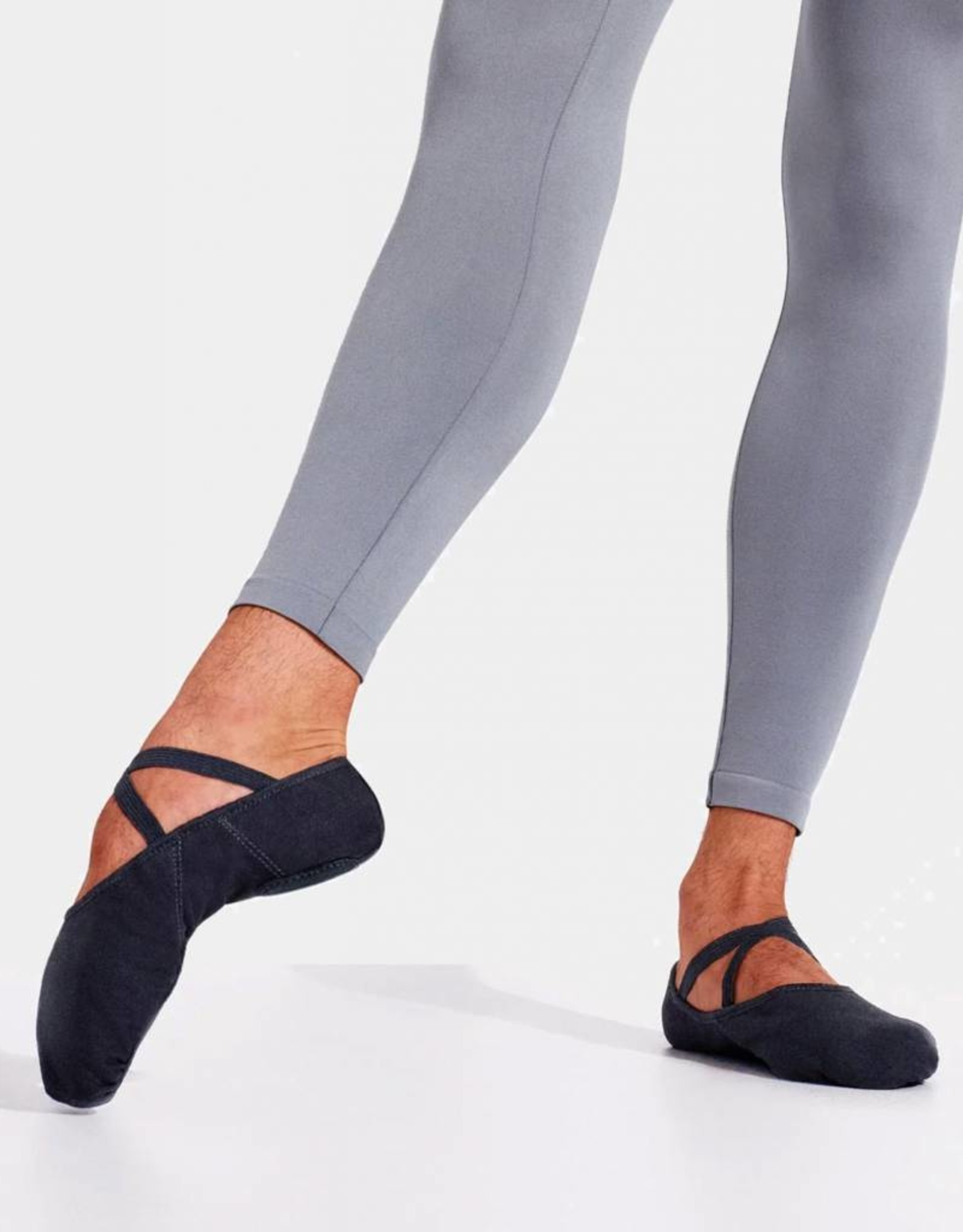 CAPEZIO ROMEO - CANVAS SPLIT SOLE BALLET SLIPPERS (2021)