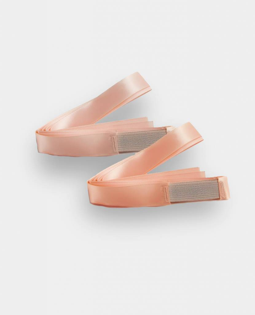 BUNHEAD FLEXERS REHEARSAL POINTE SHOE RIBBON (BH310LPP)