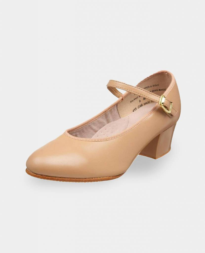 """CAPEZIO LILINA CUBAN HEEL LEATHER 1.5"""" CHARACTER SHOES (455)"""