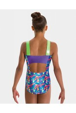MOTIONWEAR GYM WIDE STRAP LEOTARD