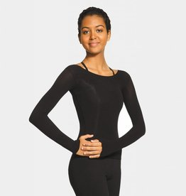 MONDOR BODY POP LONG SLEEVE NYLON MICROFIBER TOP (816)
