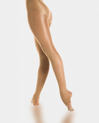 MONDOR CABARET SHIMMERY FOOTED TIGHT (358)