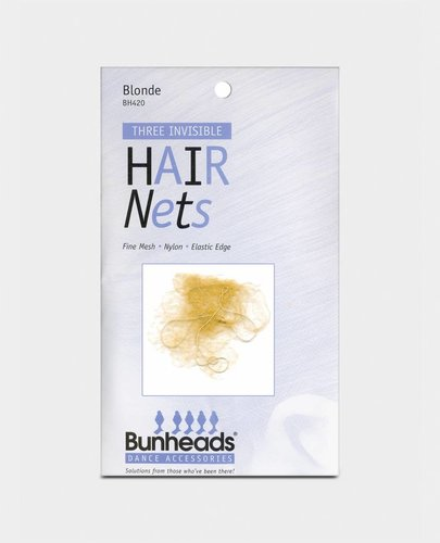 BUNHEAD MESH HAIR NETS PACK