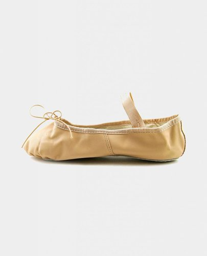 CAPEZIO TEKNIK LEATHER ADULT BALLET SLIPPERS (200A)