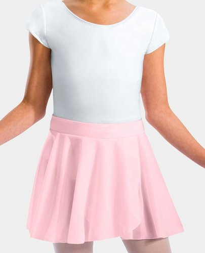 MOTIONWEAR PULL-ON CREPE SKIRT COTTON WAISTBAND