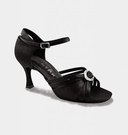 SANSHA MARGARITA SATIN BALLROOM SHOES (BR32)