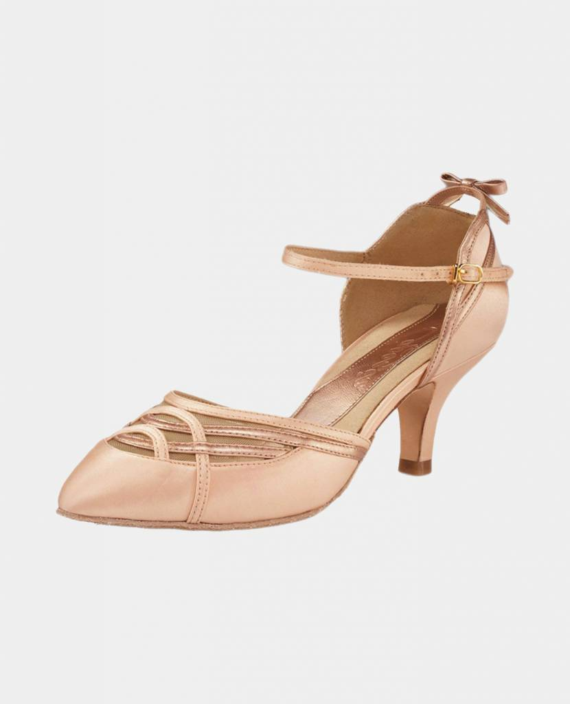 CAPEZIO ALICIA CLOSED TOE BALLROOM SHOES (BR200)