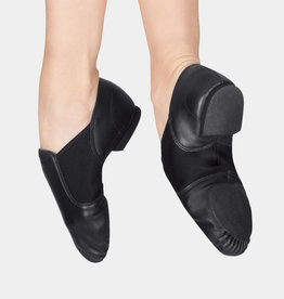 CAPEZIO E-SERIES LEATHER SLIP ON JAZZ SHOES (EJ2A)