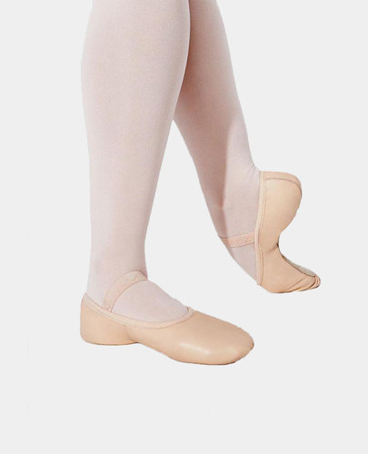 CAPEZIO BALLET SLIPPER DEMI POINTE LEATHER FULL SOLE (LILY - 212 CHILD)