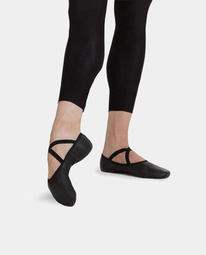 CAPEZIO ROMEO - LEATHER SPLIT SOLE BALLET SLIPPERS (2020)