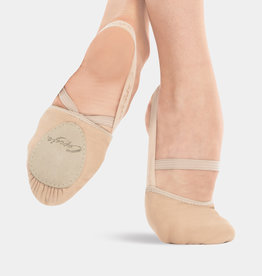 CAPEZIO CANVAS PIROUETTE ll TURNING SHOES (H061)