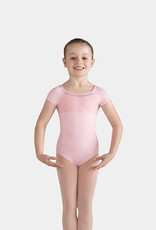 BLOCH BRIELLE MESH BACK CAP SLEEVE LEOTARD (CL9932)