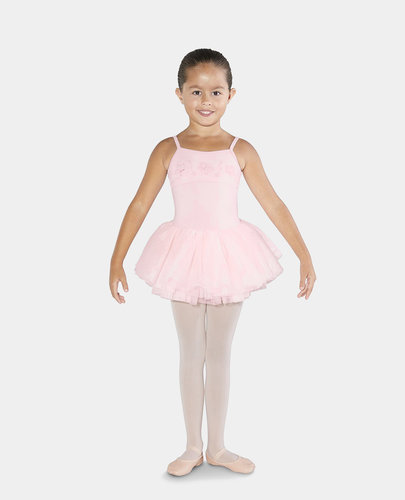 BLOCH PETALUDA BOW BACK TUTU CAMISOLE LEOTARD (CL3567)