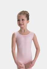 MOTIONWEAR GATHERED FRONT BRIDGE BACK TANK LEOTARD (2923)