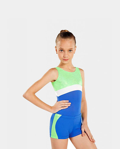 SO DANCA SHORTS WITH STRIPE DOWN SIDE.