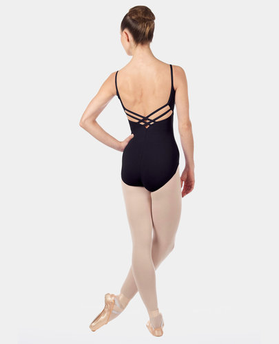 CAPEZIO CLASSIC CROSS BACK CAMISOLE LEOTARD (CC102)