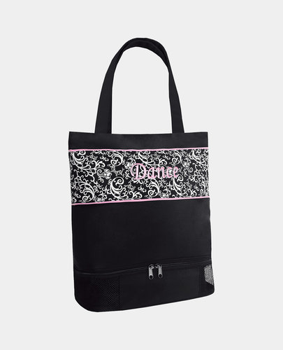 SASSI DAMASK MEDIUM TOTE BAG (DSK-02)