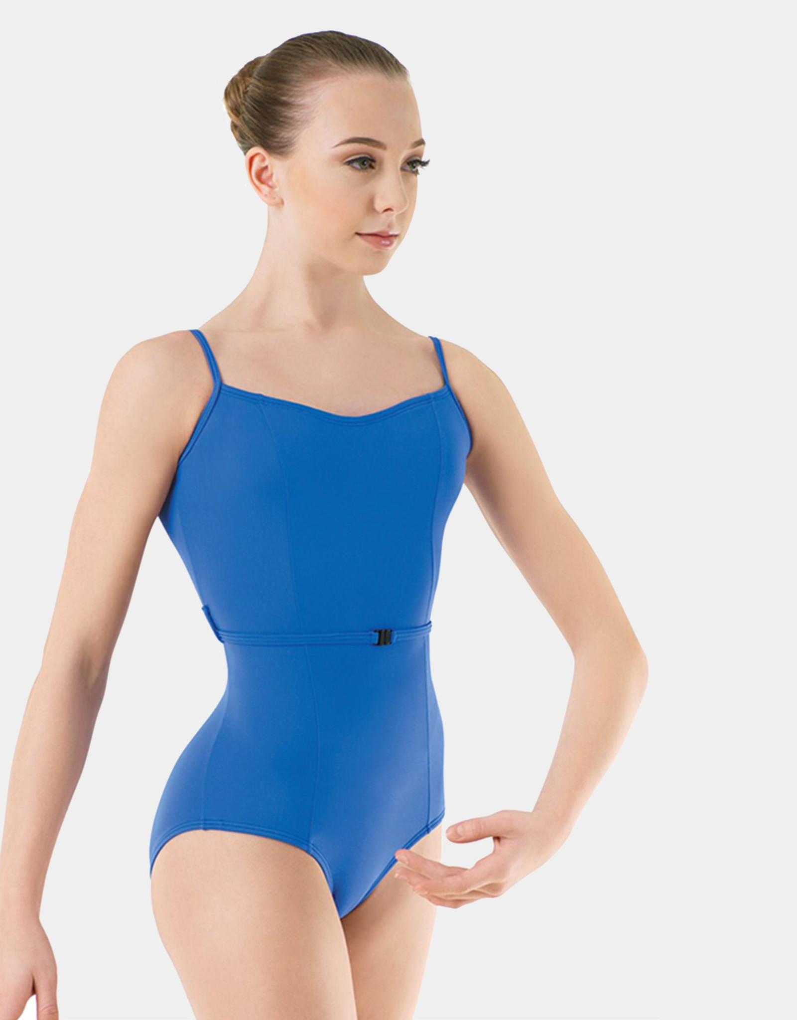 BODY WRAPPERS BELTED LEOTARD (P1212)