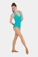 BODY WRAPPERS POINTELLE MESH RACERBACK LEOTARD (P1180)