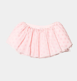 MIRELLA POLKA DOT FLOCK TUTU SKIRT (MS126C)