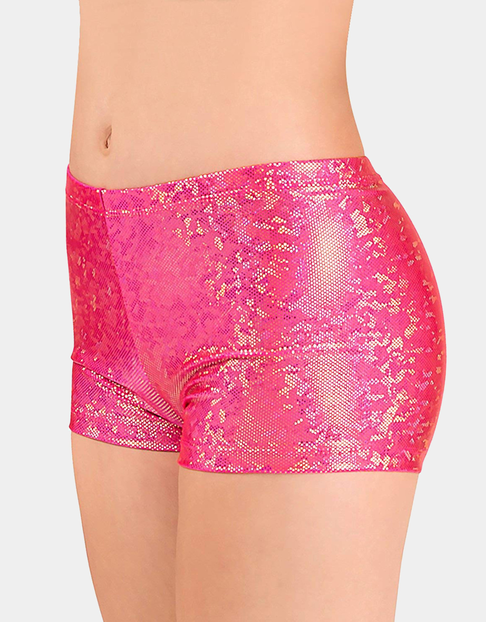 BODY WRAPPERS CHILD PRINT HOT SHORTS (700)