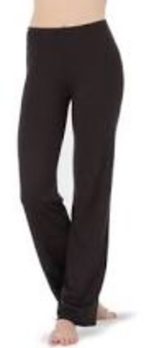 BODY WRAPPERS JAZZ PANT BLK XS